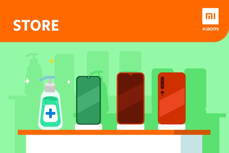 Xiaomi Indonesia Jaga Ponsel Tetap Steril