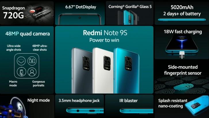 Xiaomi Umumkan Redmi Note 9S untuk Pasar Global