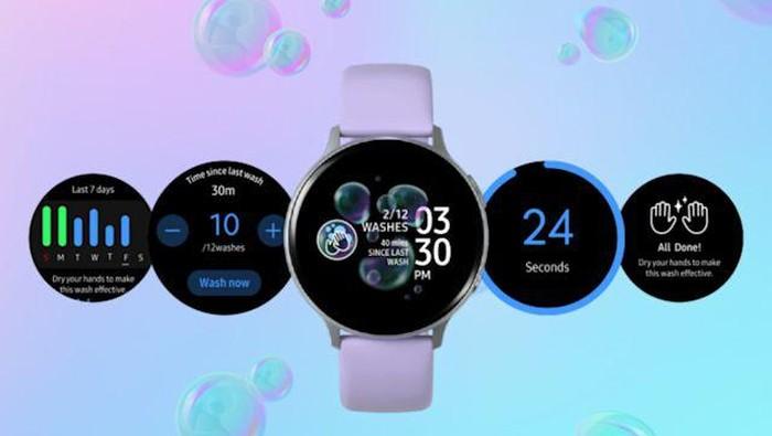 Jam Pintar Samsung Ingatkan Pengguna Cuci Tangan