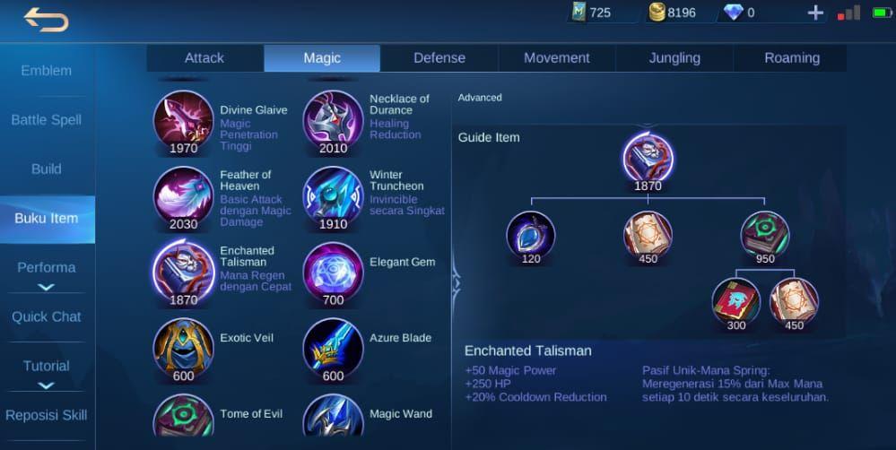 Build Mematikan Kadita Mobile Legends